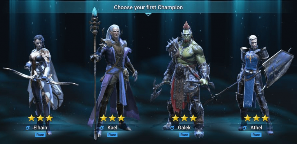 How to pick your starter champion