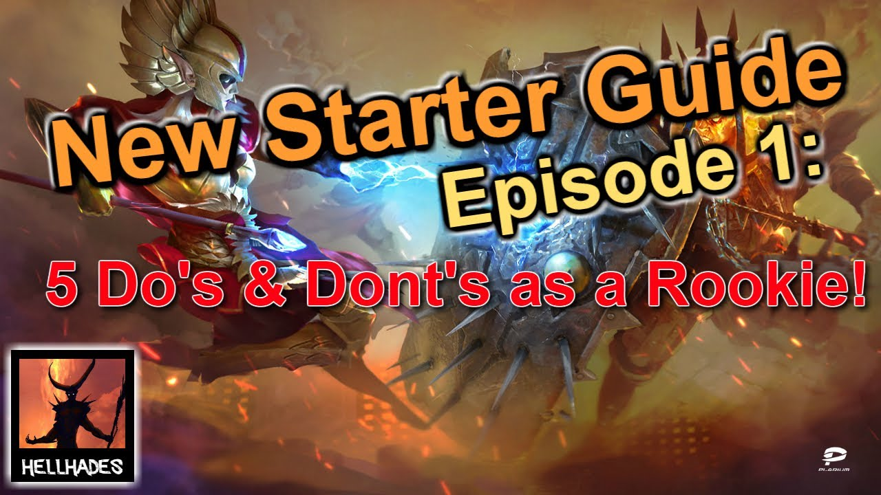 Episode 1: Dos, don't and useful tips for rookies