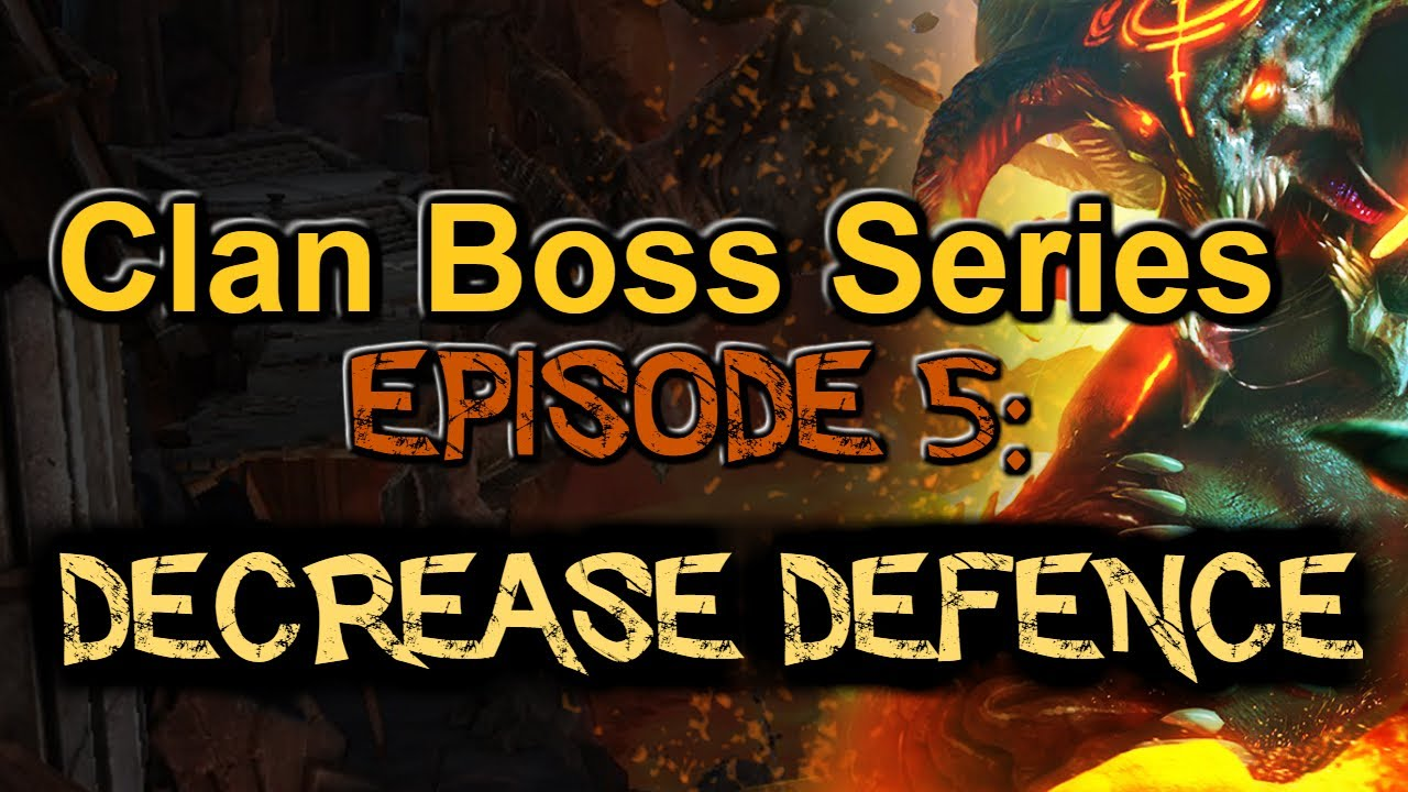 Episode 5: Best champions for Decrease DEF and when to use it