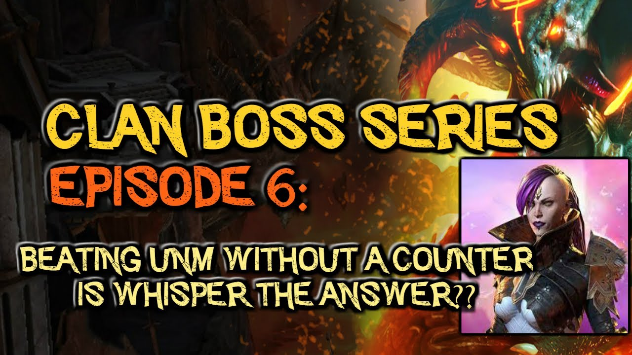 Episode 6: Beating the Clan Boss without Counterattack buff