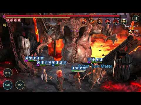 Clan boss show off: 50M damage in UNM, no unkillable!