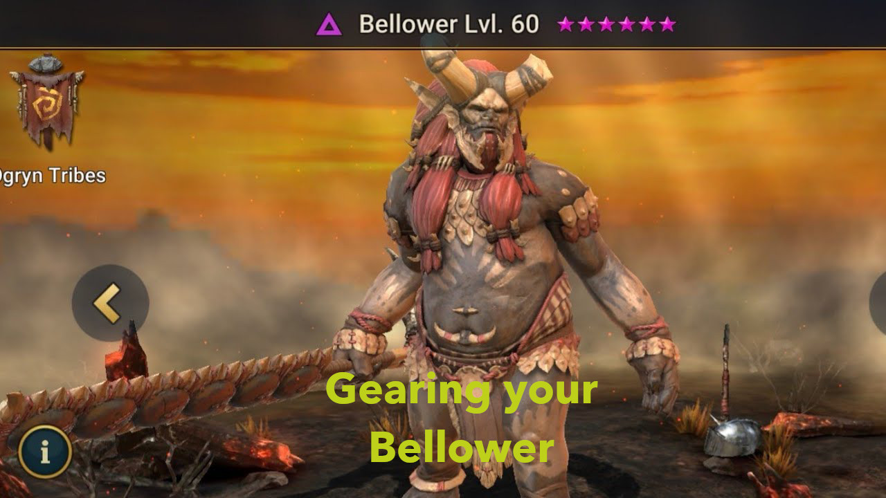 Gearing Bellower