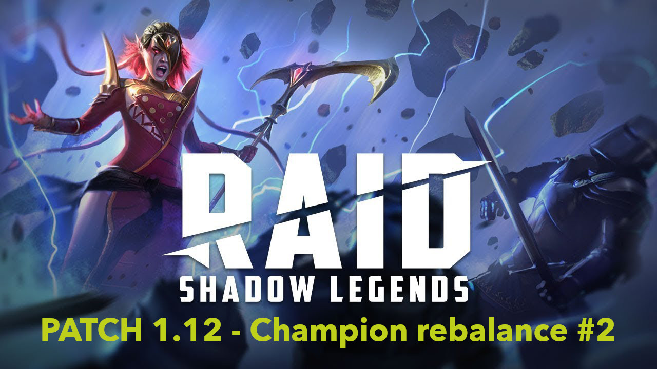 [Patch 1.12] Champion rebalance from 19th of December
