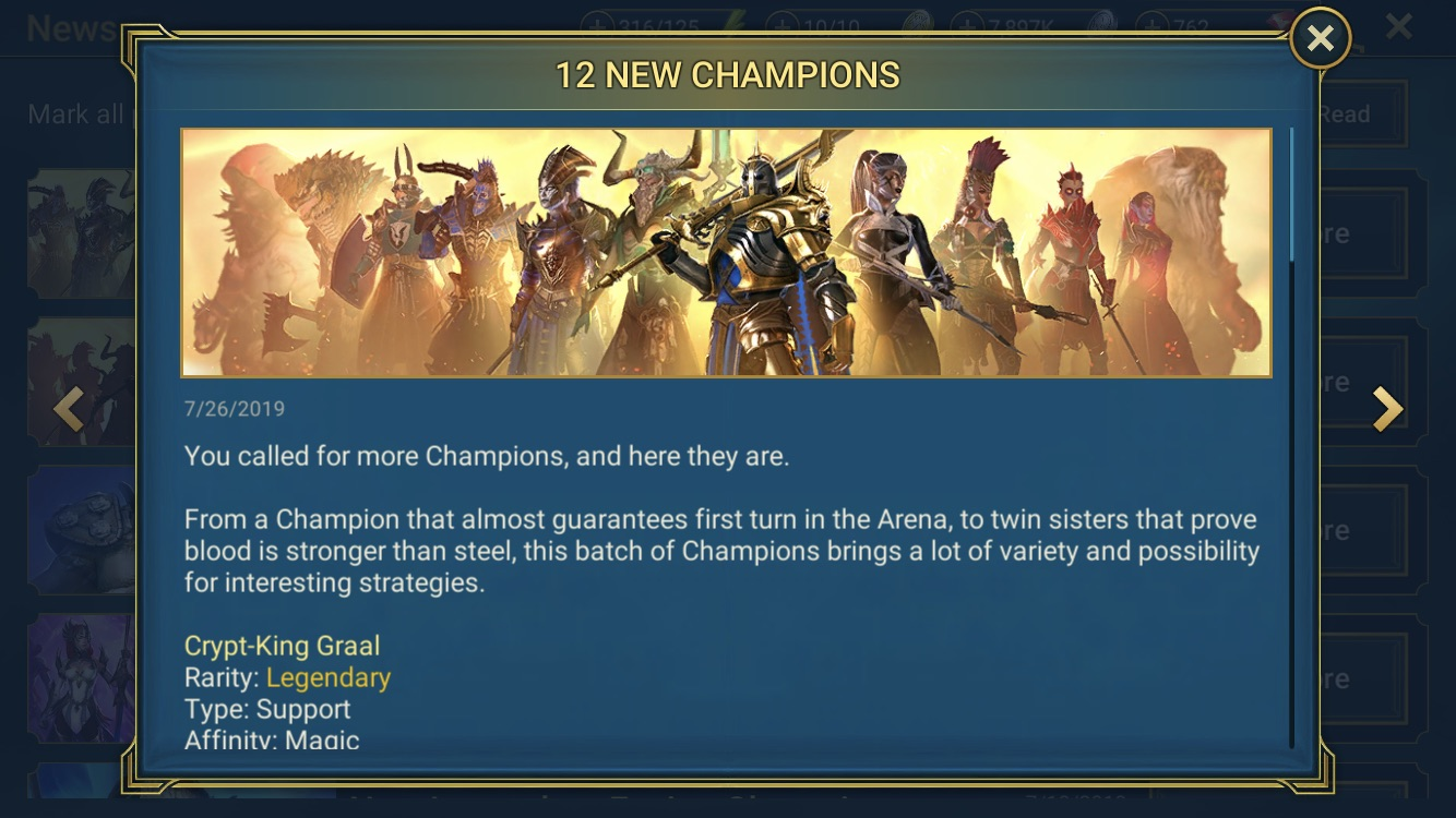 [Patch 1.9] 12 new champions!