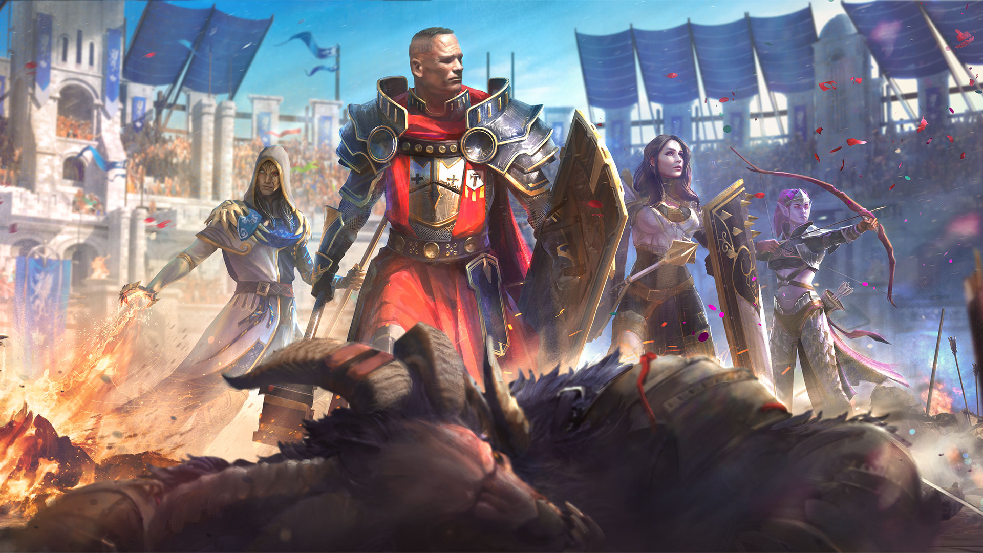 Loading screen from the Arena