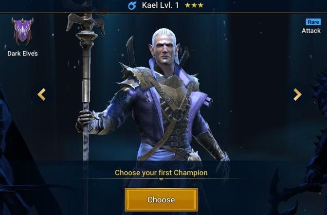 How to pick your starter champion ?   RAID - Codex