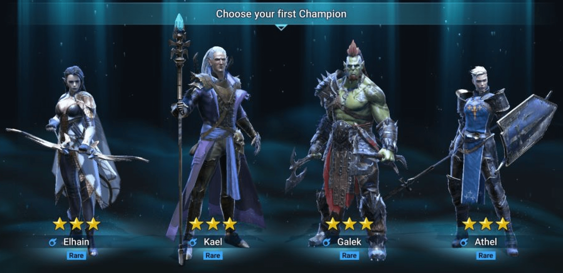 How to pick your start champions?