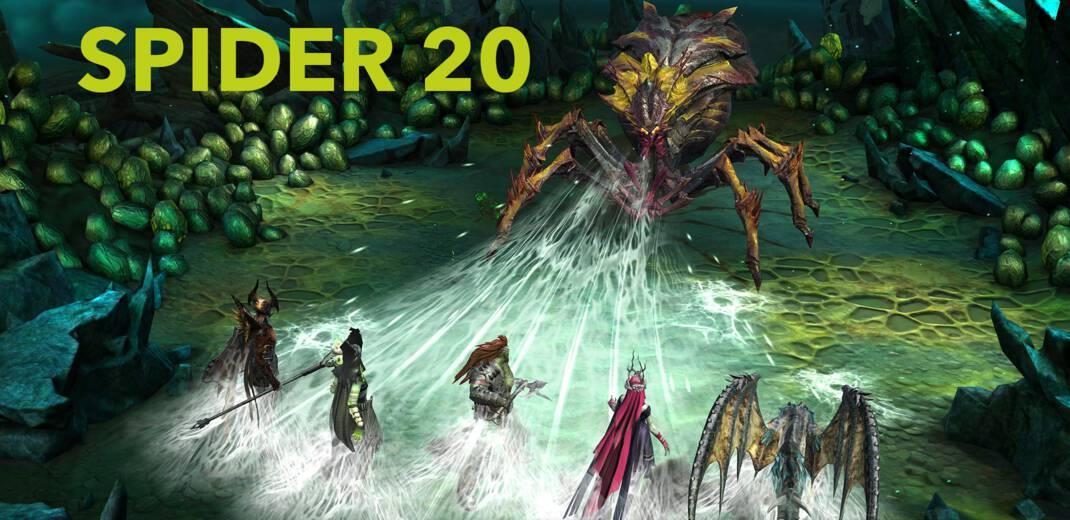 Spider 20 team